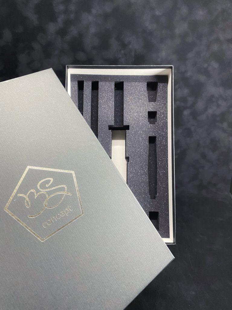 Коробка для кальяна с ложементом