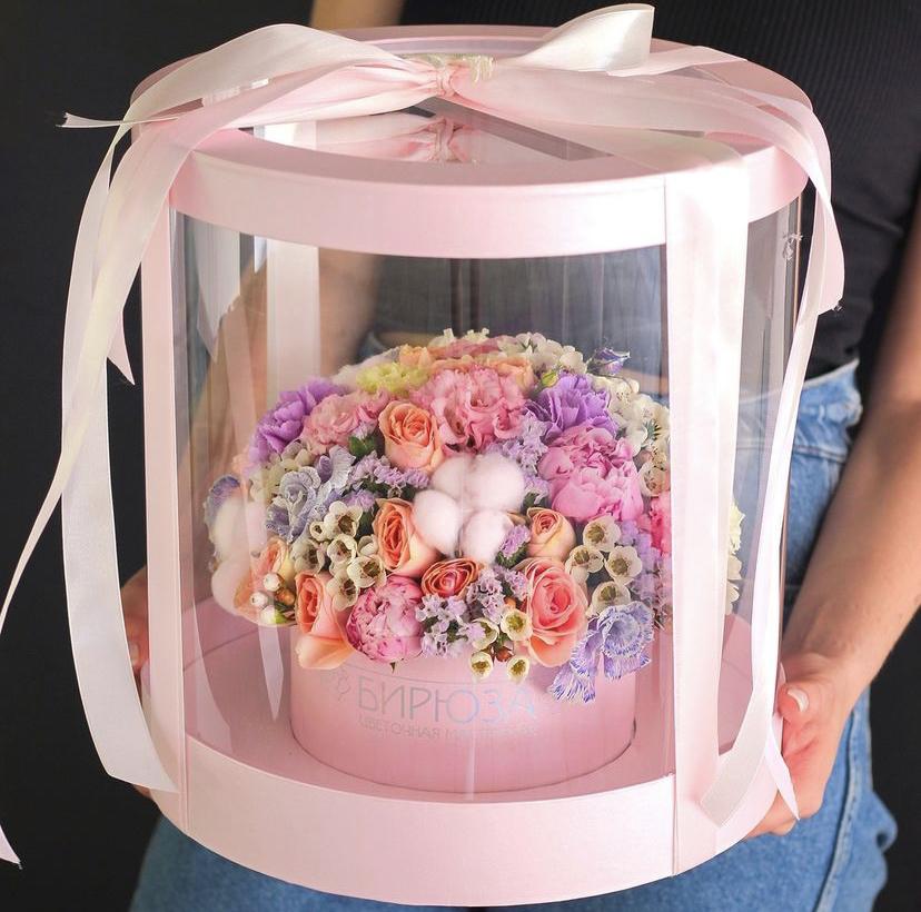 Коробка для цветов в Краснодаре